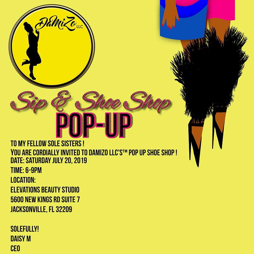 Sip & Shoe Shop Pop-UP