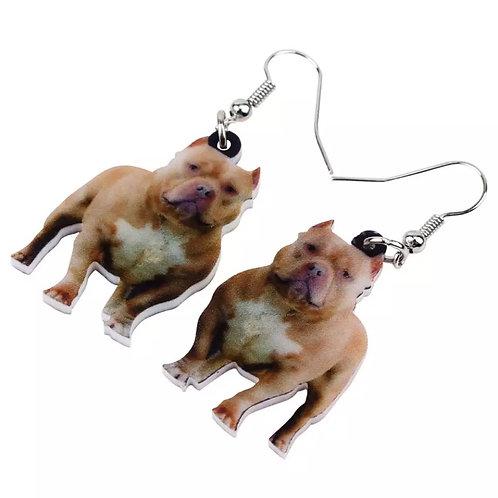 Pit Bull Earrings