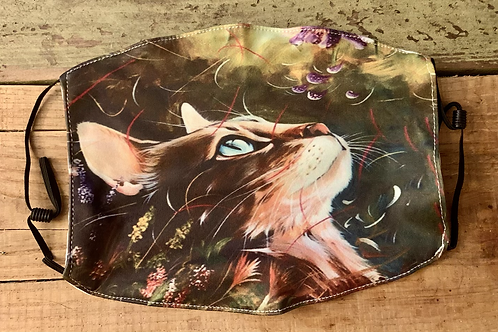 Beautiful Cat Theme Face Cover w/ 2 filters