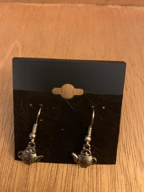 Teapot Earrings- Small