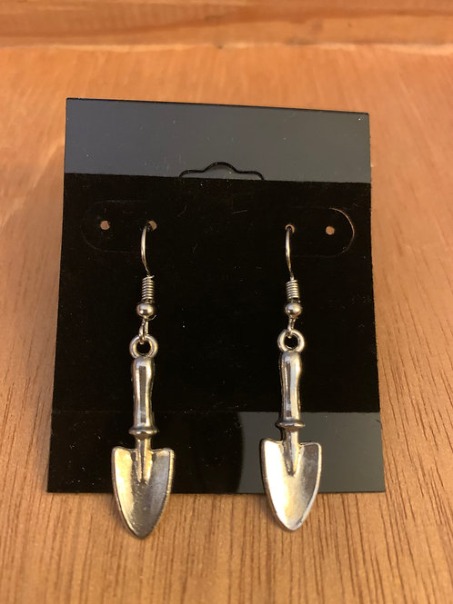 Spade Garden Earrings