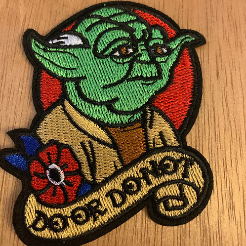 Do or Do Not Yoda Star Wars Iron on Patch