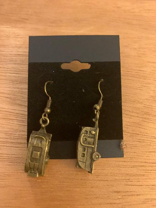 Vintage Camper Travel Trailer Earrings