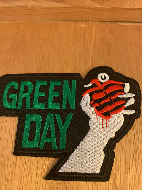 Green Day Iron on Patch