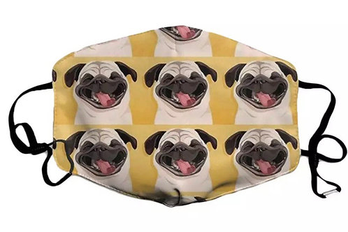 Pug Face Cover