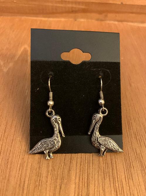 Pelican Earrings