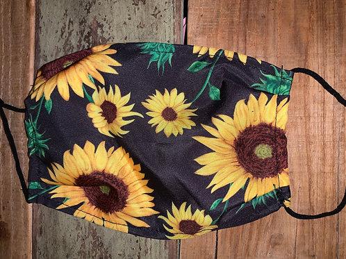 Sunflower Face Cover