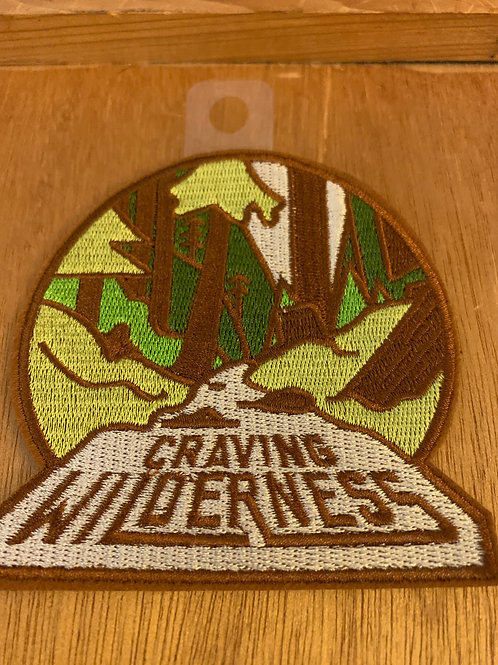 Craving Wilderness Large Iron on Patch