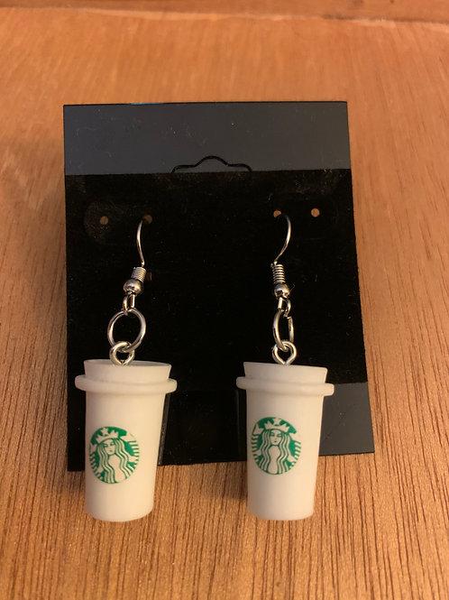 Coffee Cup Earrings