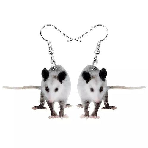 Opposum Style Earrings