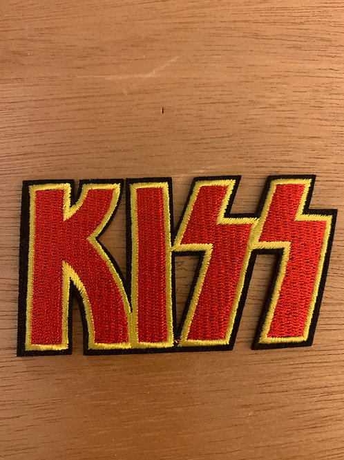 Kiss Iron on Patch