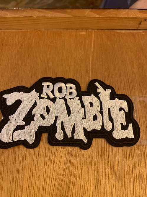 Rob Zombie Iron on Patch