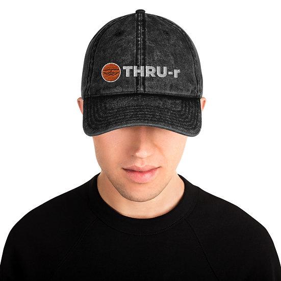 THRU-r Vintage Hat (Black)
