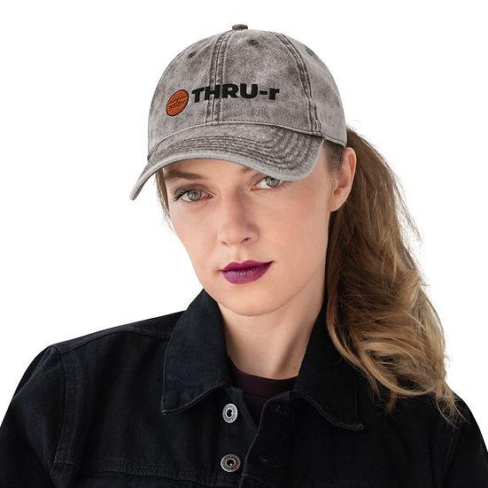 THRU-r Vintage Hat (Grey)