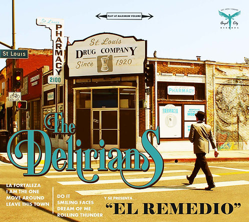 "The Delirians ""El Remedio""Album CD"