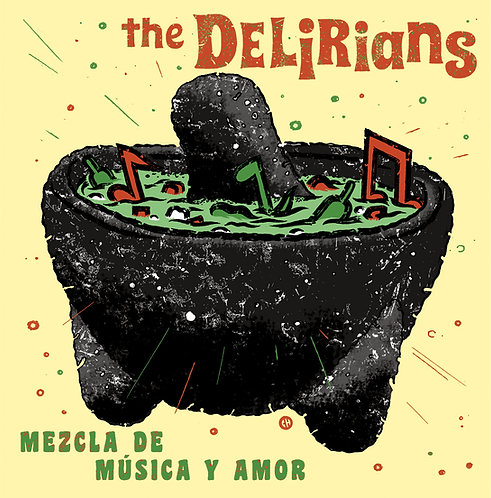 "The Delirians ""Mezcla De Musica Y Amor"" CD EP"