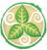 The Henna Leaf Logo