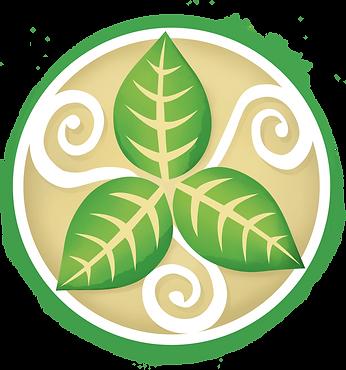 The Henna Leaf Logo