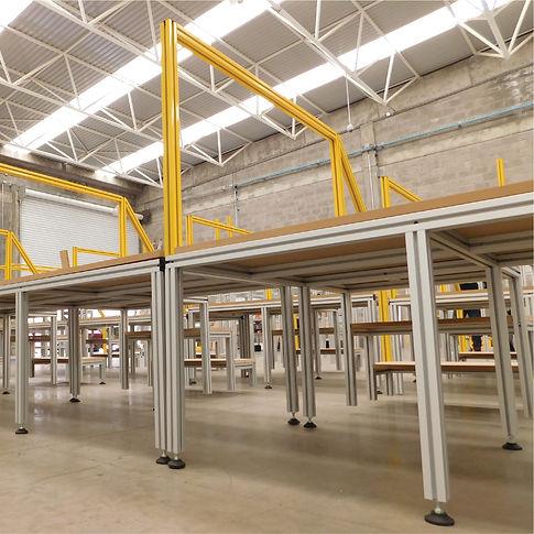 Perfil Aluminio Estructural Abe Trade Solutions