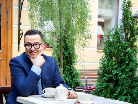 """Фотосъемка на обложку журнала """"Современный отель"""". Юнис Теймурханлы."""
