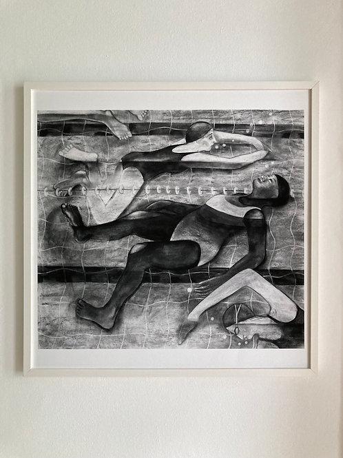 'Slow Lane' print