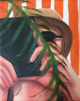 20cm x 25cm oil on canvas