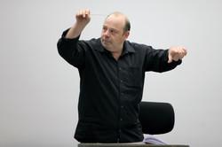 In rehearsal, Vienna 2012