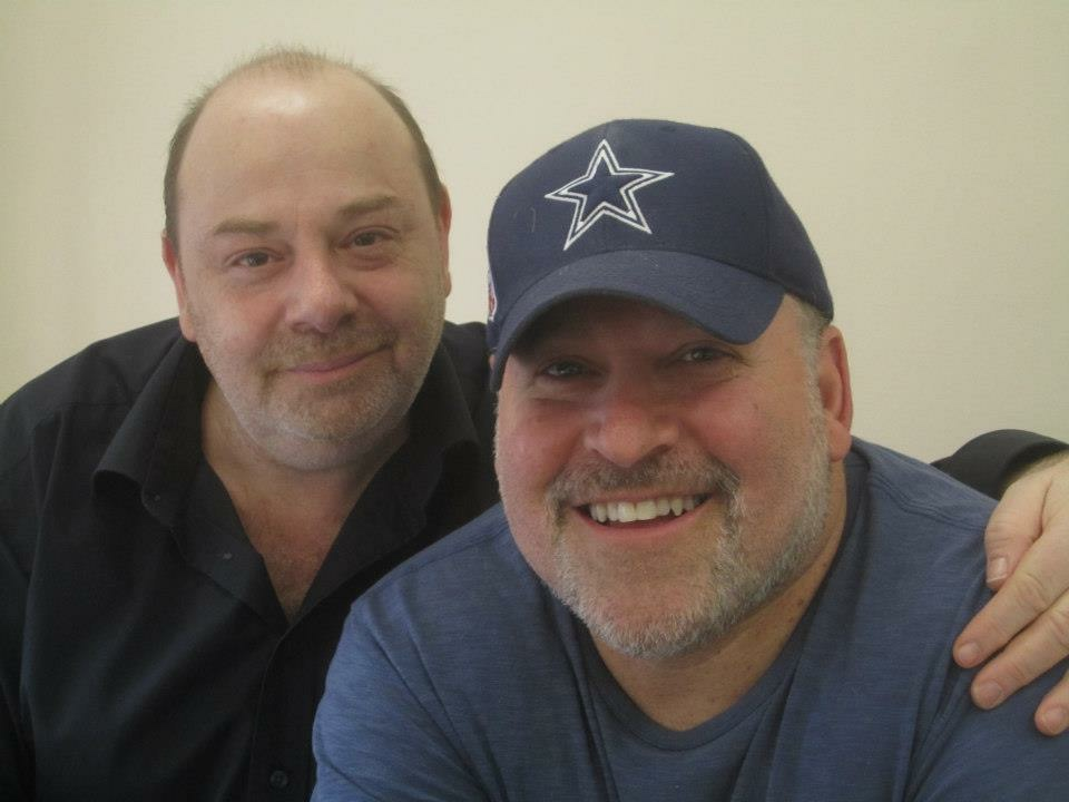 With Frank Wildhorn, New York 2013