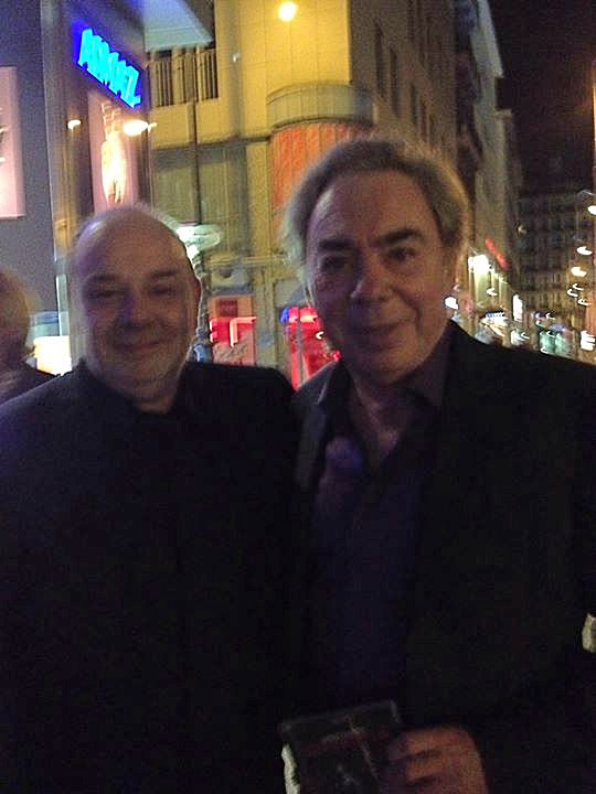 With Andrew Lloyd Webber Vienna 2013