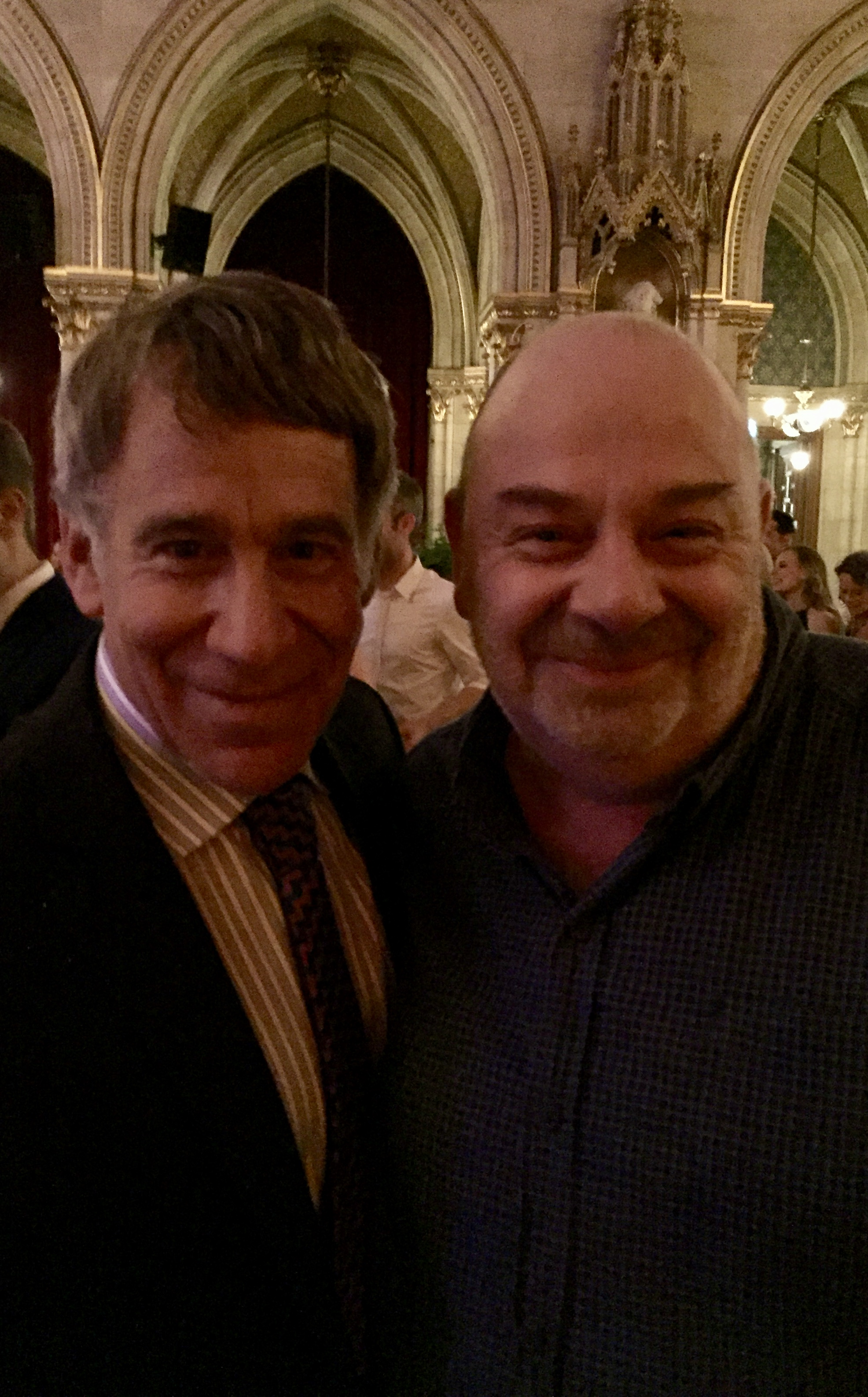 With Stephen Schwartz, Vienna 2016