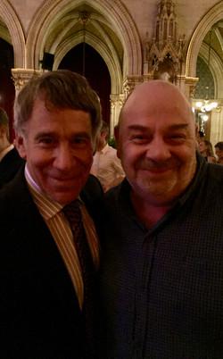 With Stephen Schwartz, Vienna 2016