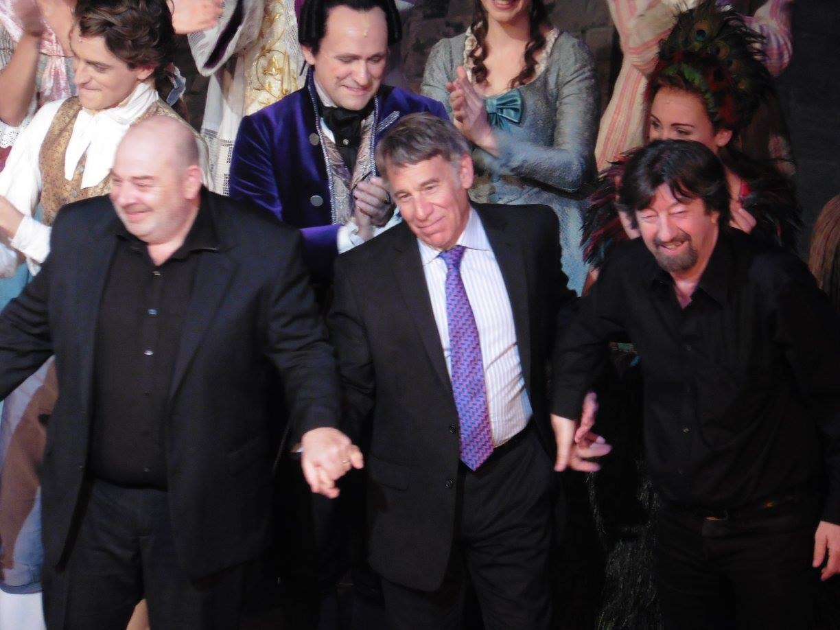 With Stephen Schwartz & Trevor Nunn
