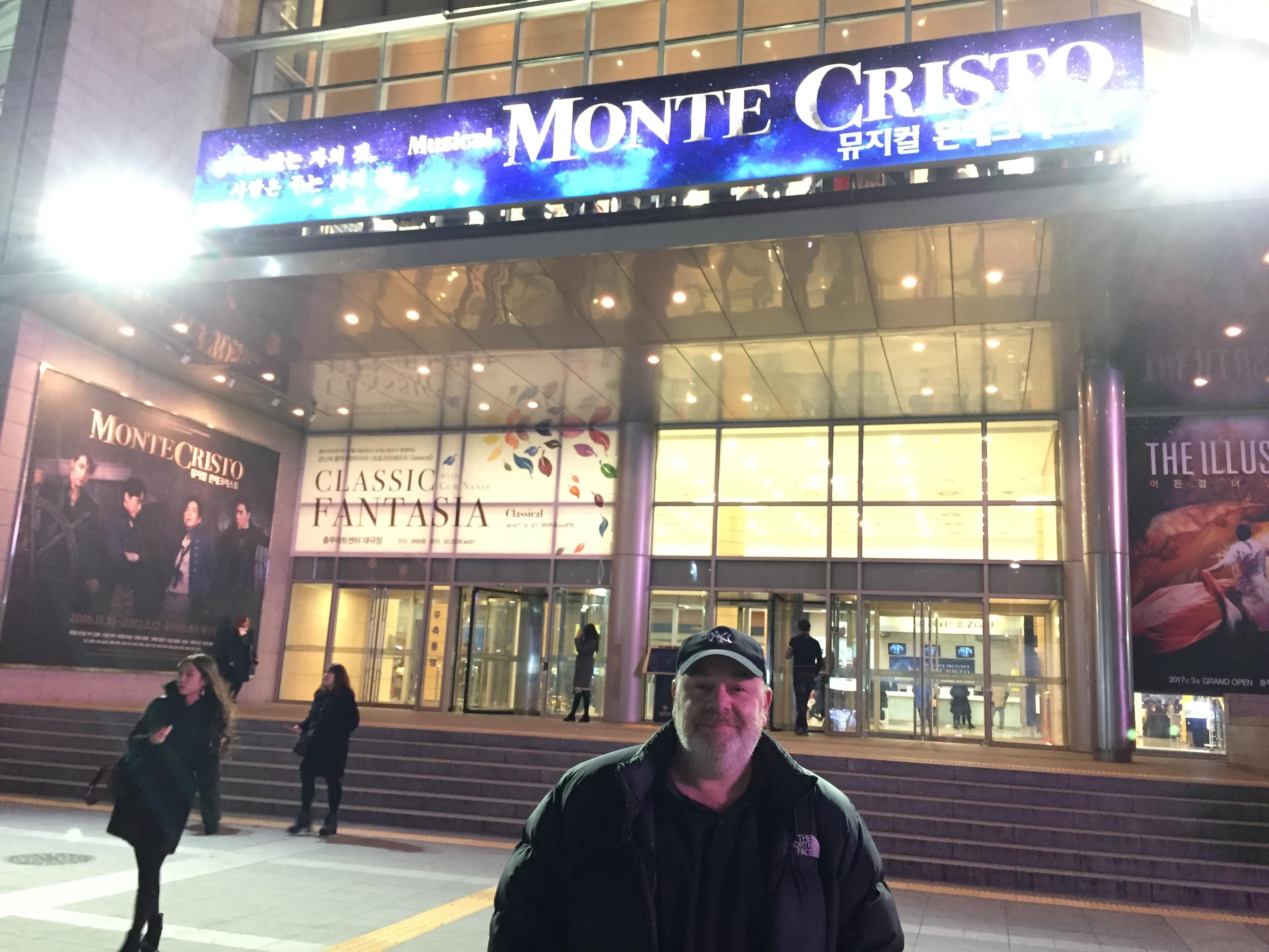 Monte Cristo, Seoul 2016