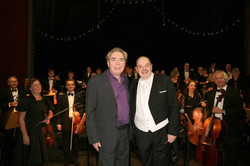 With Andrew Lloyd Webber, 2013