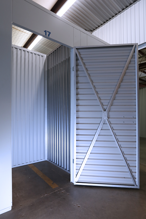Pictured: An indoor storage unit at The Venice Storage Company.