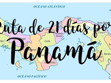 Ruta de 21 días por Panamá