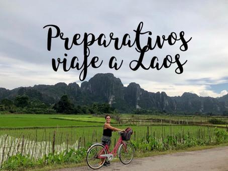 Preparativos para viajar a Laos