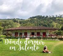 Dónde dormir en Salento - La Cabaña Ecohotel