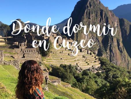 Dónde dormir en Cuzco
