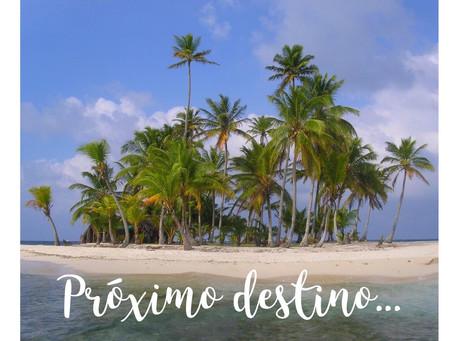Próximo destino... PANAMÁ!