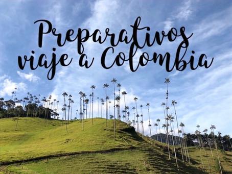 Preparativos para viajar a Colombia