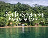 Dónde dormir en Bahía Solano - El Arca