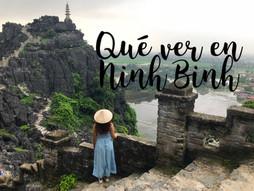 Qué ver en Ninh Binh