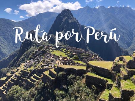 Ruta de 24 días por Perú