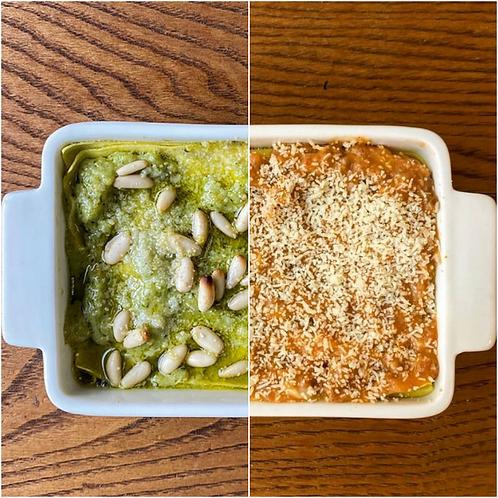 Lasagne al Pesto o al Ragù