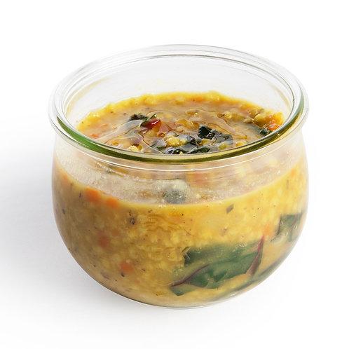 Zuppa di Sorgo, Carota e Bietole