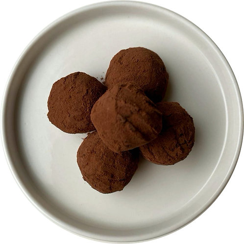 Tartufi al Cioccolato e Pereroncino