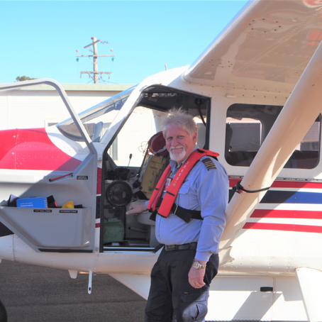 MARCUS GREY FLIES TO TIMOR-LESTE