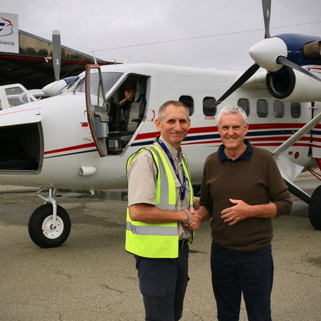 John Davidson and the Twin Otter