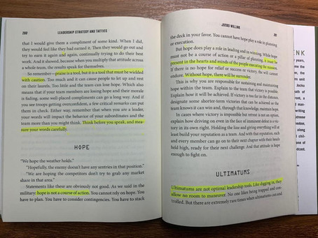 Hope and Ultimatums, pages 280-287